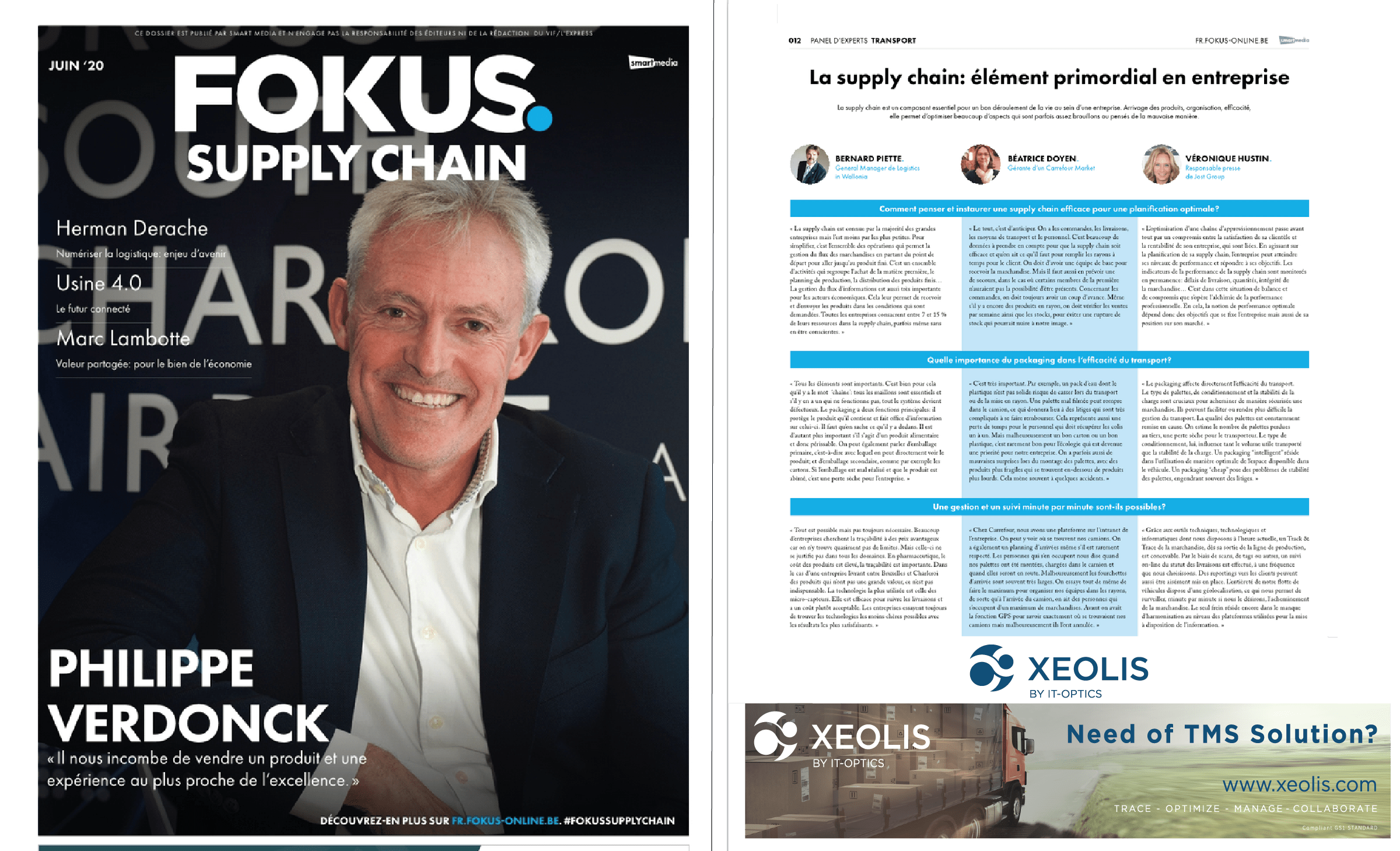 FOKUS SUPPLY CHAIN MANAGEMENT XEOLIS